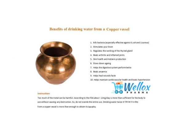 Does Drinking Water In Copper Vessels Uplift The Sex life
