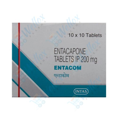 Entacom 200 Mg Tablet