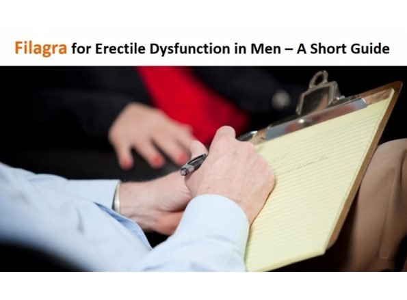 Filagra For Erectile Dysfunction In Men - A Short Guide