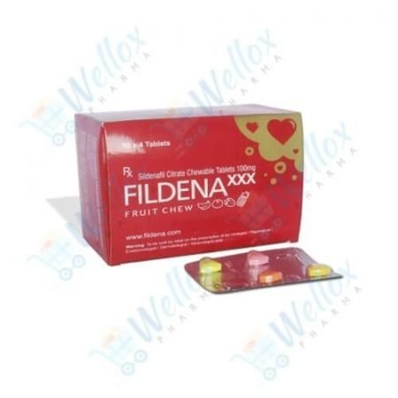 Buy Fildena Chewable Tablet