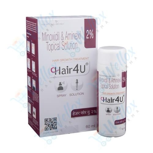 Hair 4U 2% Topical Solution