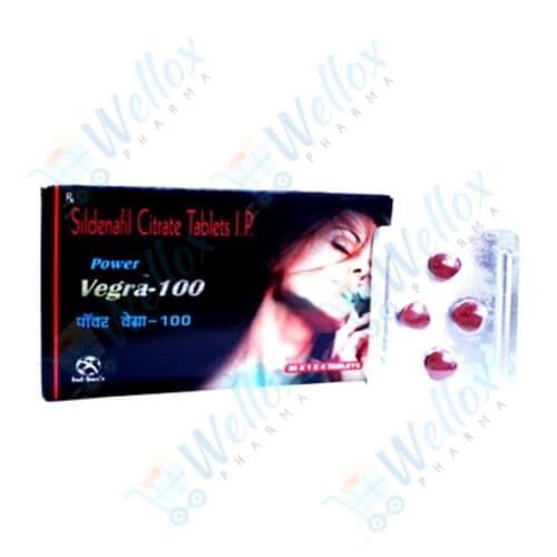 Power Vegra 100 Mg