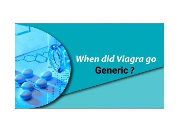 When Did Viagra Go Generic?