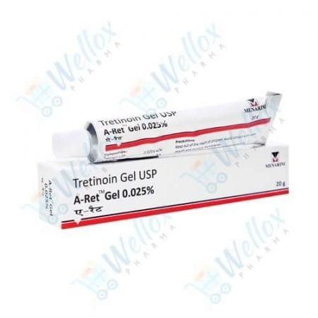 Buy A-ret 0.025 gel