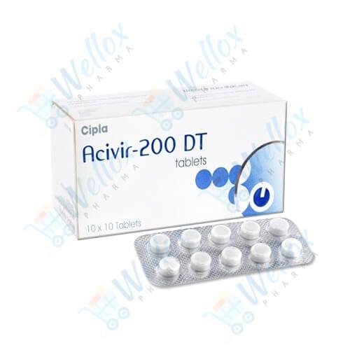 Buy Acivir 200 DT