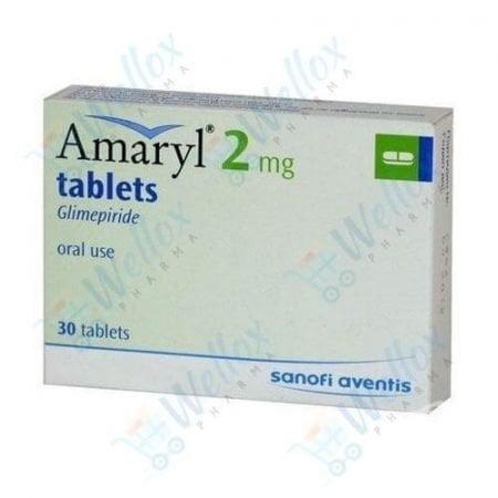 Buy Amaryl 2 Mg