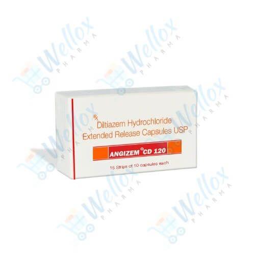 Buy Angizem CD 120 Mg
