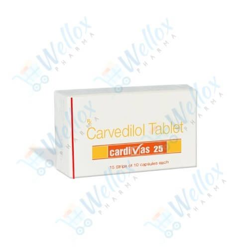 Buy Cardivas 25 Mg