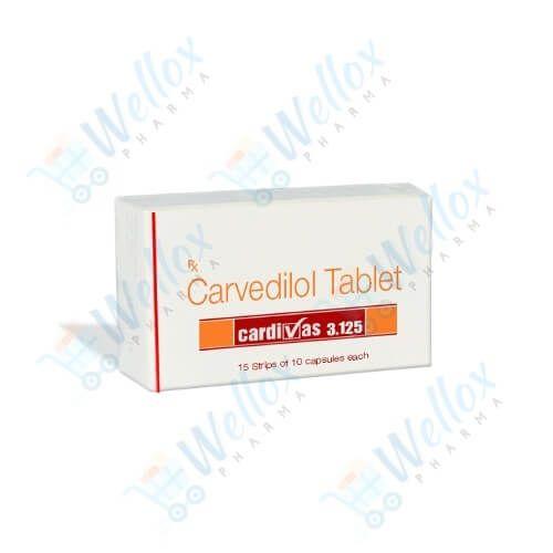 Buy Cardivas 3.125 Mg