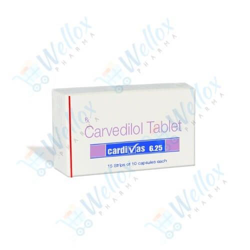 Buy Cardivas 6.25 Mg