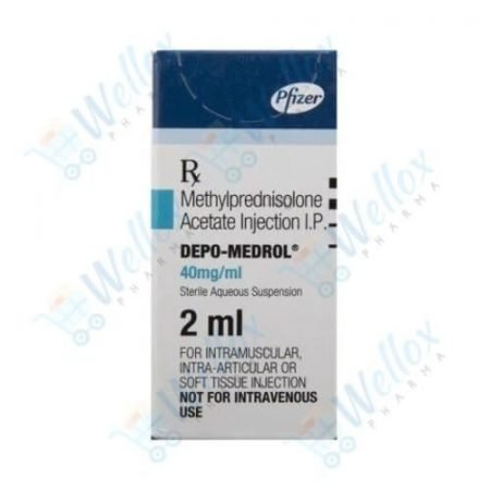 Buy Depo-Medrol 40 Mg Injection (2 ml)