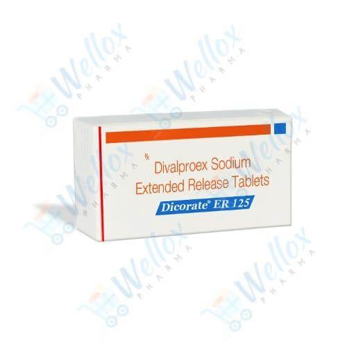 Buy Dicorate ER 125 Mg