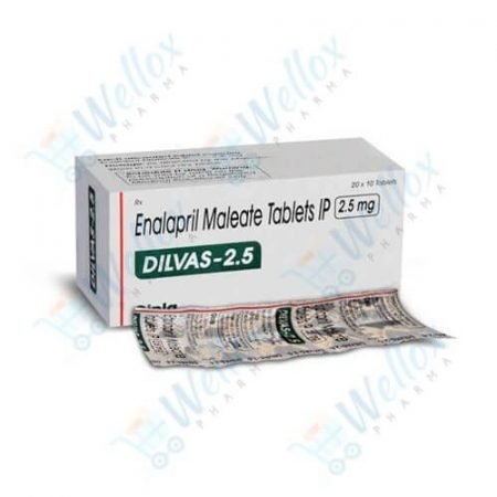 Buy Dilvas 2.5 Mg