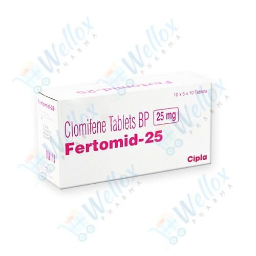Buy Fertomid 25 Mg