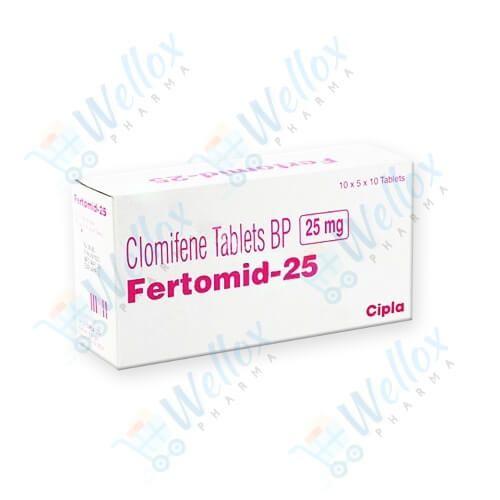 Buy Fertomid 25 Mg
