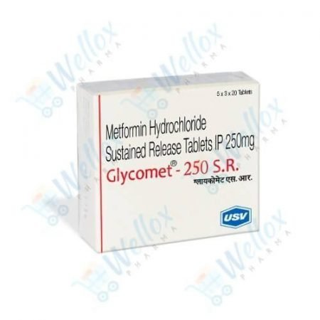 Buy Glycomet 250 Mg