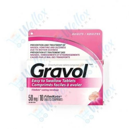 Buy Gravol 50 Mg