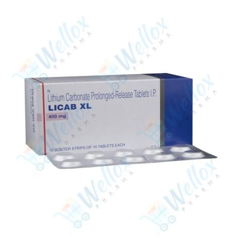 Buy Licab XL 400 Mg