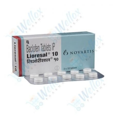 Buy Lioresal 10 Mg
