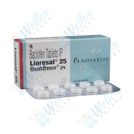 Buy Lioresal 25 Mg
