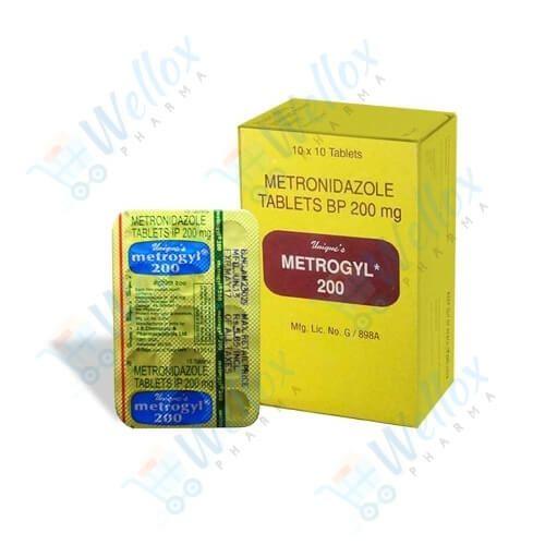 Buy Metrogyl 200 Mg