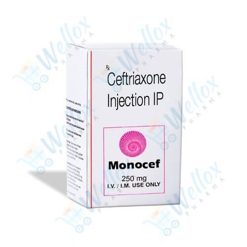Buy Monocef 250 Mg Injection