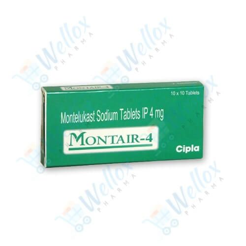 Montair 4 Mg Chewable