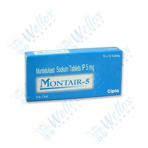 Montair 5 Mg Chewable
