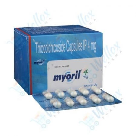 Buy Myoril 4 Mg