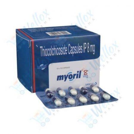 Buy Myoril 8 Mg