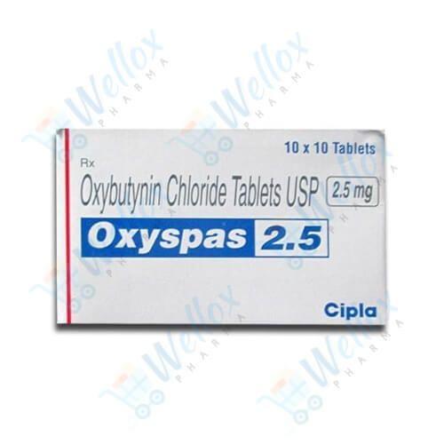 Buy Oxyspas 2.5 Mg