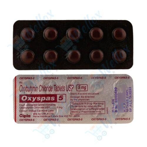 Buy Oxyspas 5 Mg