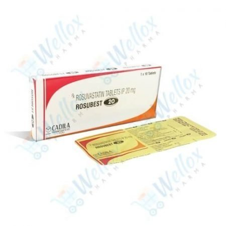 Buy Rosubest 20 Mg