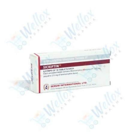 Buy Sicriptin 2.5 Mg
