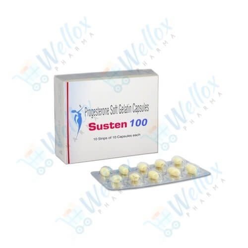 Buy Susten 100 Soft Gelatin Capsule