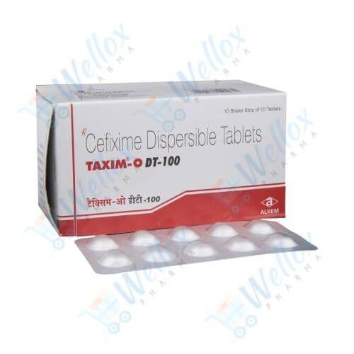 Taxim-O 100 Mg DT